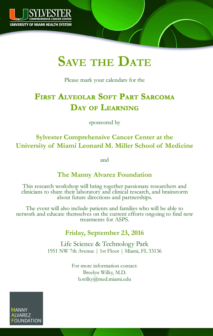 ASPS Event - Save the Date